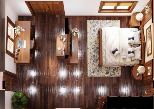 Thiết kế nội thất khách hàng chị Mai ( Thị Trấn, Nga Sơn, Thanh Hóa )