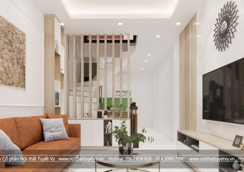 Thiết kế và thi công nội thất cho dự án anh Nam tại Vũ Tông Phan, Hà Nội