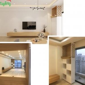 Ảnh thực tế đẹp không kém 3D: So sánh nội thất của căn hộ anh Ngọc tại Lê Văn Lương