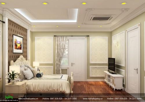 Thiết kế nội thất biết thự Tân Cổ Điển tại Thanh Hóa