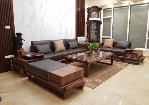Thiết kế nội thất phòng khách bếp cho nhà chị Thắng tại Vũ Trọng Phụng, Hà Nội