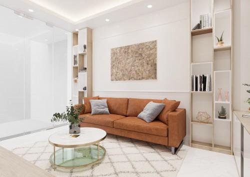 Thiết kế nội thất chung cư nhà khách hàng anh Chung ( Mandarin )