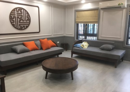 Công trình thực tế: Hoàn thiện nội thất cho căn biệt thự liền kề cô Mai