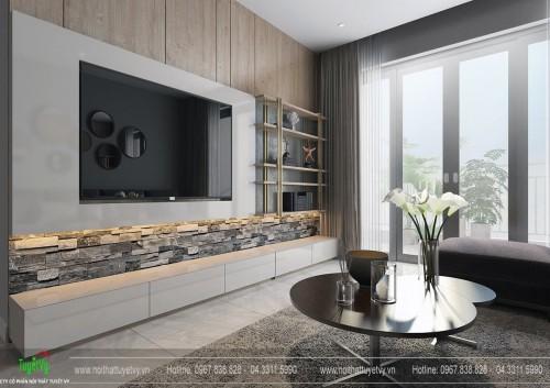 Thiết kế nội thất chung cư Anland Nam Cường