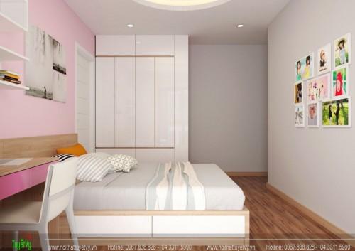 Thiết kế nội thất Chung cư The TWO Residence