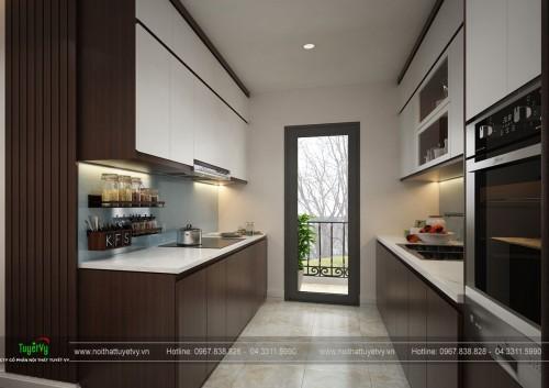 Thiết kế, thi công nội thất chung cư Eco Green - Anh Bình
