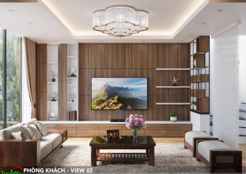 Thiết kế căn hộ tại Mậu Lương, Hà Đông - Sự sáng tạo của Tuyết Vy Furniture