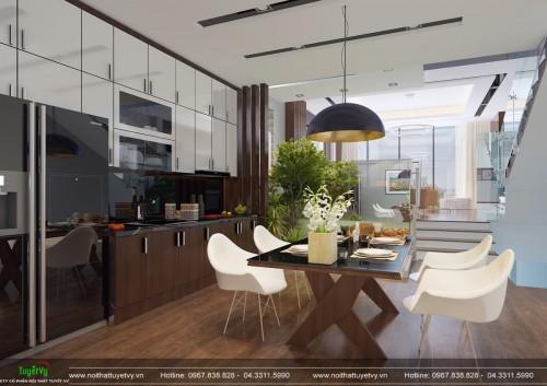 Thiết kế nội thất nhà phố Hà Trì