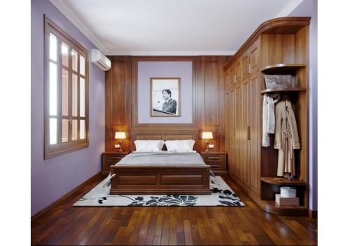 Phòng ngủ nhà khách hàng cô Vân Anh ( Trần Duy Hưng )