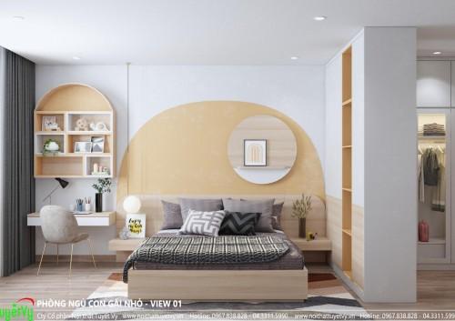 Phòng ngủ con gái chị Út (Bắc Ninh)