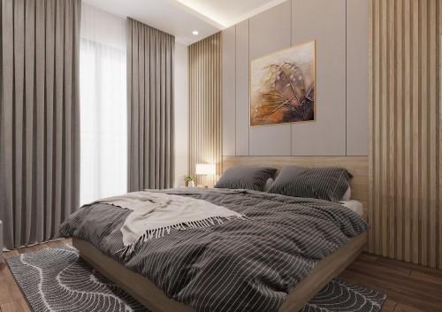 Thiết kế phòng ngủ nhà khách hàng anh Độ ( Thanh Hà )
