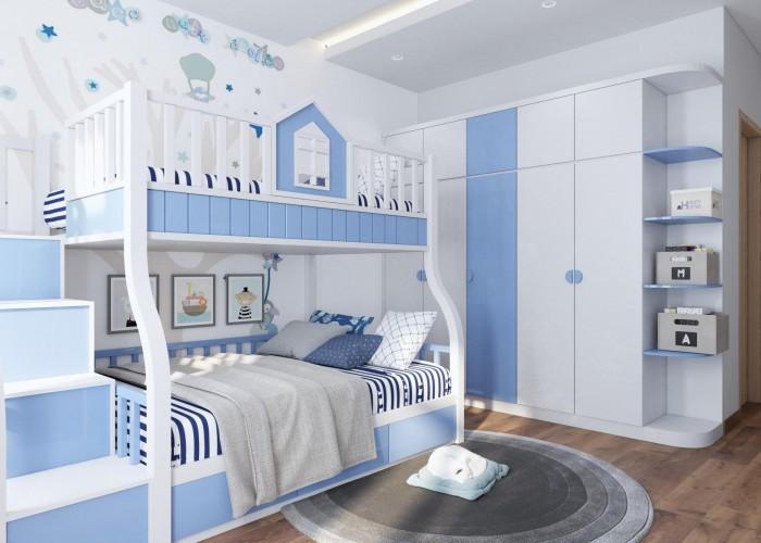 Thiết kế thi công công trình phòng ngủ con trai khách hàng anh Tuấn Anh ( Hải Dương )