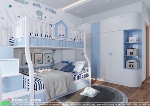 Phòng ngủ cho các ban nhỏ trong gia đình