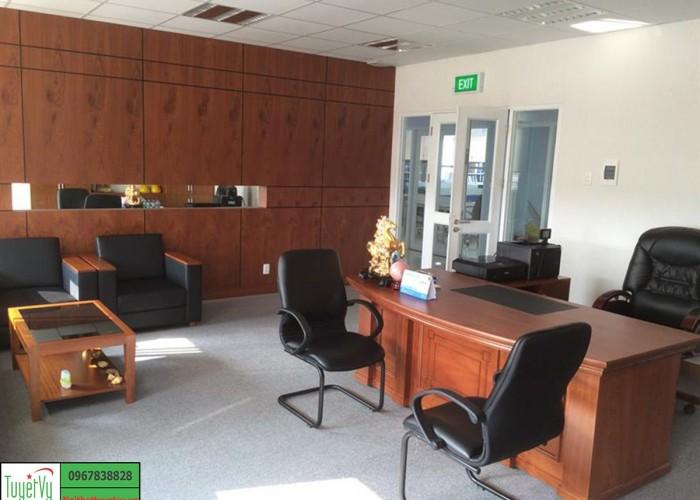 Nội thất phòng giám đốc đẹp, hiện đại và đẳng cấp PGD01