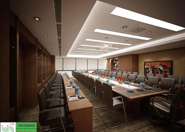 Nội thất phòng họp đẹp và hiện đại PH04