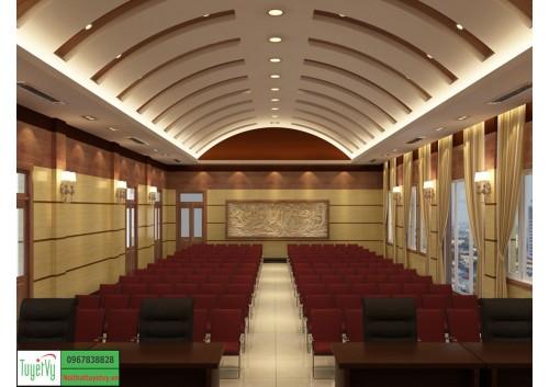 Nội thất phòng họp công trình Bảo Hiểm Thanh Hóa P1