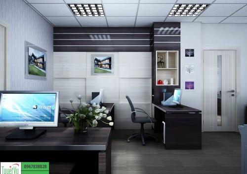 Phòng làm việc nhân viên đẹp, hiện đại PNV02