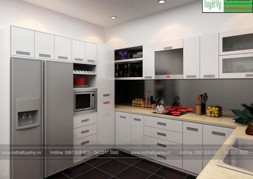 Tủ bếp giá rẻ TB15