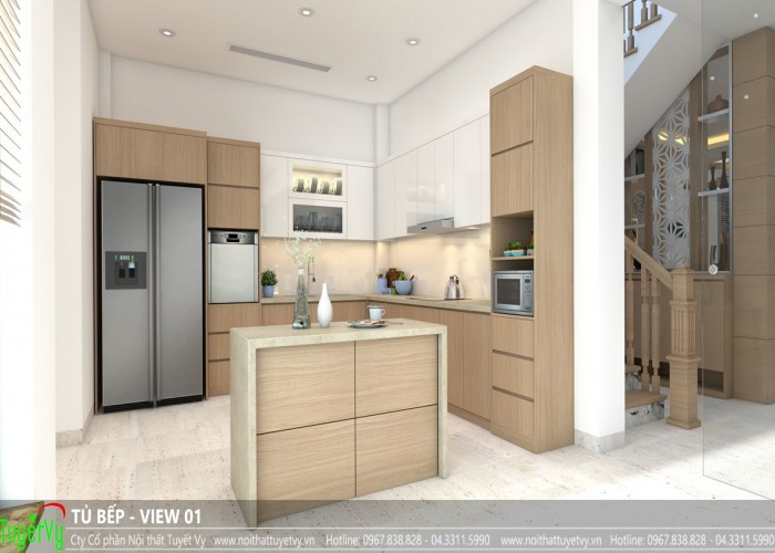 Tủ bếp hiện đại - TB29