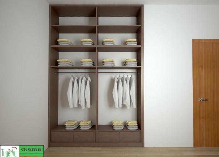 Tủ quần áo hiện đại TQA08
