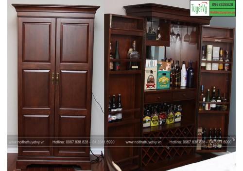 Mẫu tủ rượu đẹp TR05