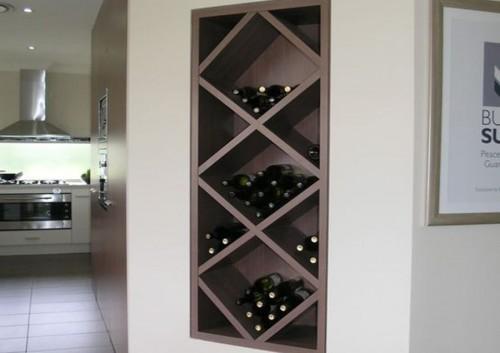 Tủ rượu âm tường TR03