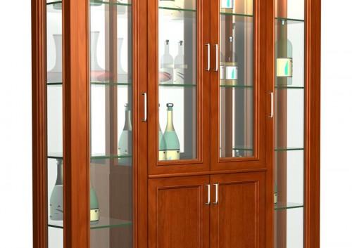 Tủ rượu gỗ tự nhiên TR01