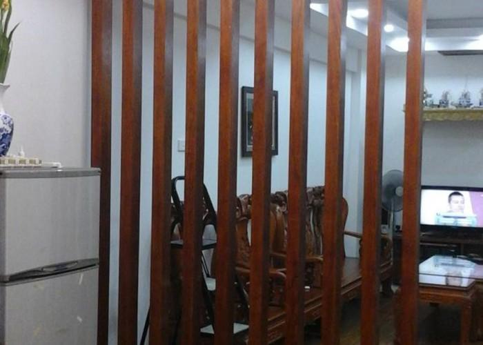 Vách ngăn đẹp cho phòng khách VN07