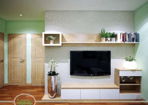 Kệ tivi đẹp cho phòng khách - KTV02