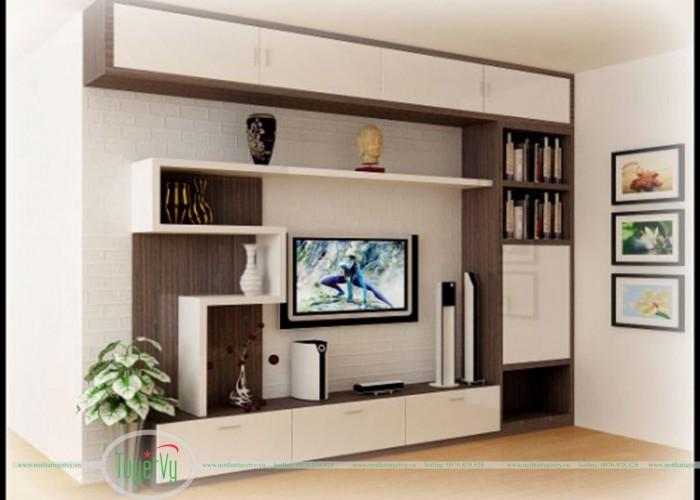 Kệ tivi gỗ cao cấp KTV08