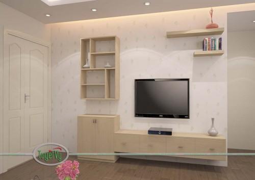 Kệ tivi gỗ - KTV07
