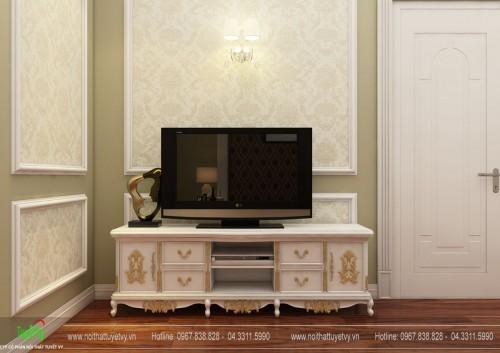 Kệ tivi tân cổ điển - KTV14