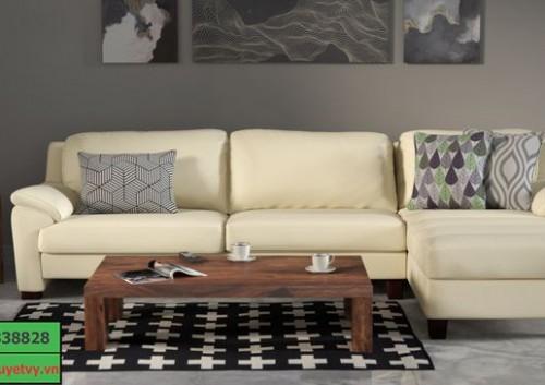 Mẫu Sofa da hiện đại SFD09