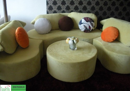 Sofa Nỉ đẹp và ấn tượng SFN06