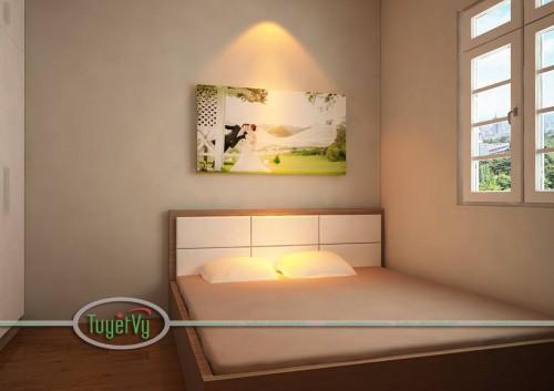 Giường ngủ bọc đệm - GN03