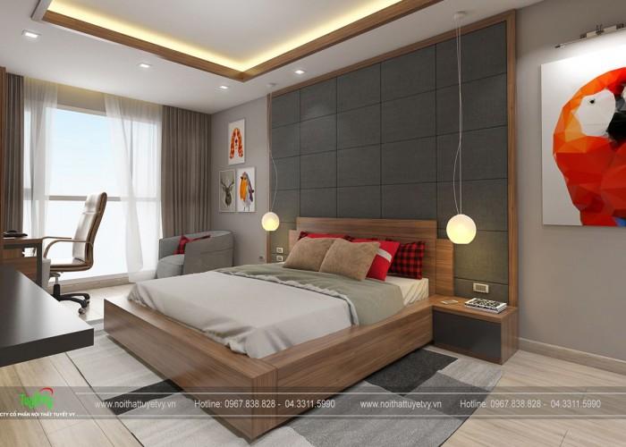 Giường ngủ cao cấp GN09
