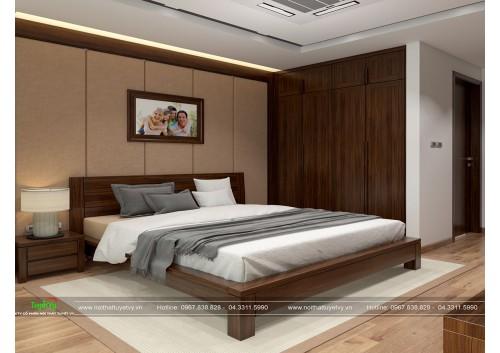 Giường ngủ giá rẻ tại hà nội GN12