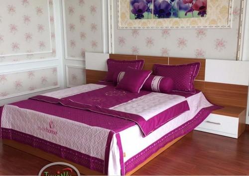 Giường ngủ gỗ công nghiệp GN02
