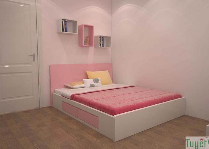 Giường ngủ gỗ công nghiệp đẹp - GN05