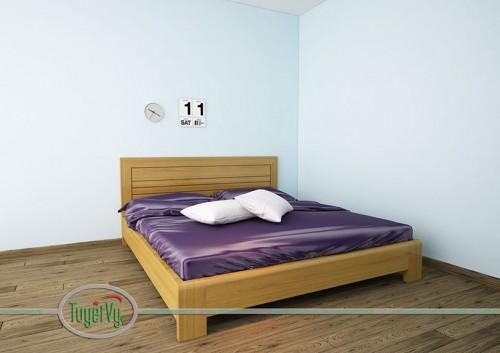 Giường ngủ gỗ tự nhiên - GN06