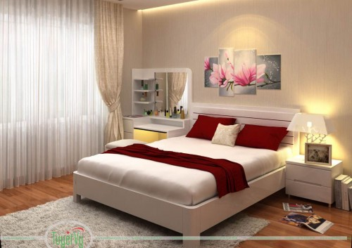 Giường ngủ đẹp sang trọng GN08