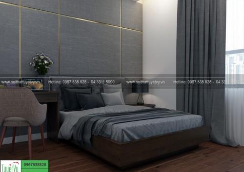 Giường ngủ sang trọng GN11
