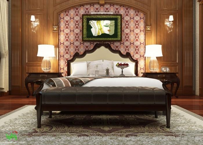 Giường tân cổ điển - GN21
