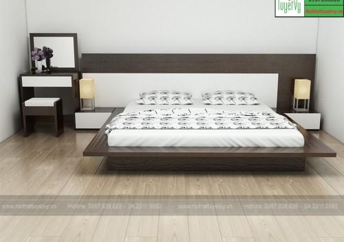 Mẫu giường cưới đẹp GN19