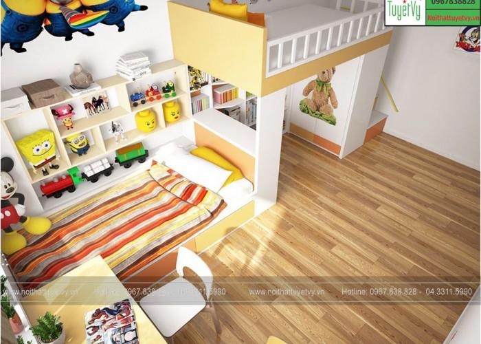 Giường 2 tầng GT11