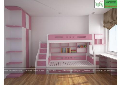 Giường tầng giá rẻ GT06