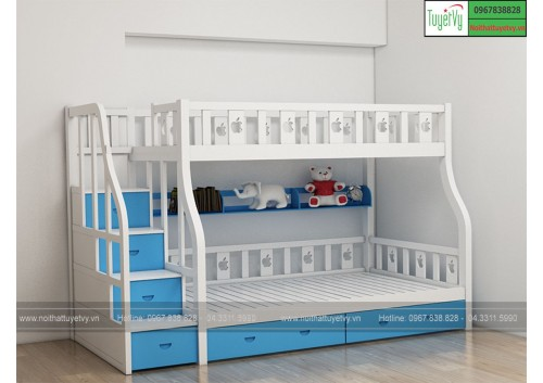 Giường tầng gỗ GT05