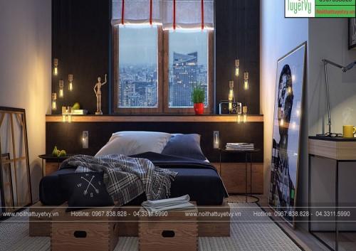 Nội thất phòng ngủ giá rẻ - PNBE07