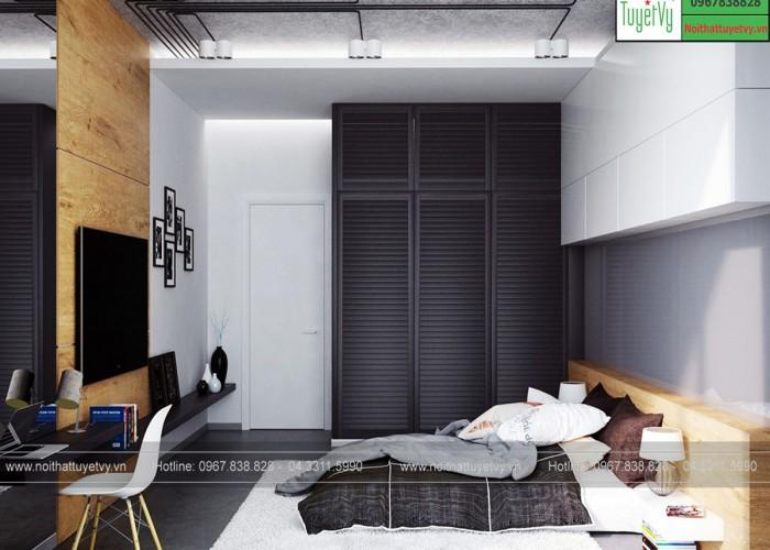 Thiết kế phòng ngủ nhỏ - PNBM05