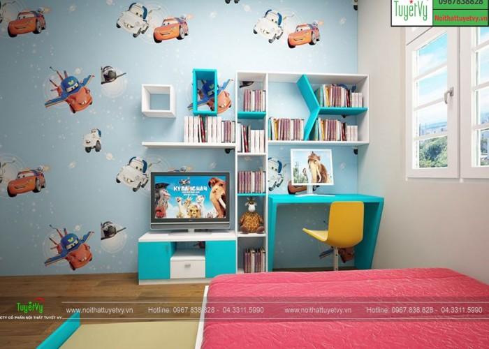 Phòng ngủ bé trai PNTE08